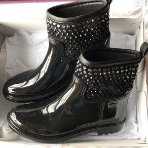 Michael Kors Embellished DANI Rain Boot